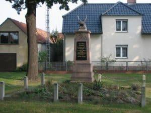 Kriegerdenkmal Klein Gaglow