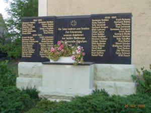 Kriegerdenkmal Hänchen
