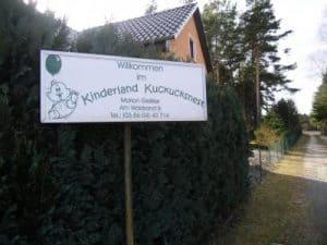 Tagespflege Kinderland Kuckucksnest