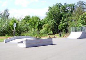Skaterbahn am Kolkwitz-Center