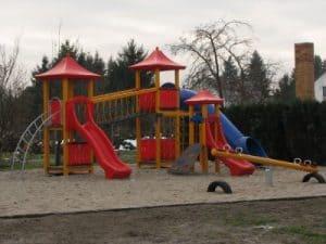 Spielplatz in Hänchen